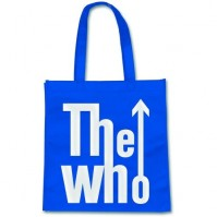 The Who Blue White Arrow Tote Shopping Bag For Life Gift Official Product CD LP