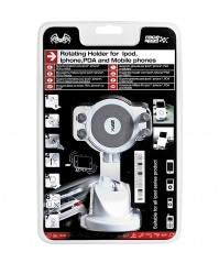 Race Sport Dashboard iPod iPhone Mobile Samsung In Car Holder Stand Clip White