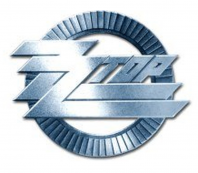 ZZ Top Round Classic Silver Logo Metal Pin Badge Fan Official Blues Rock