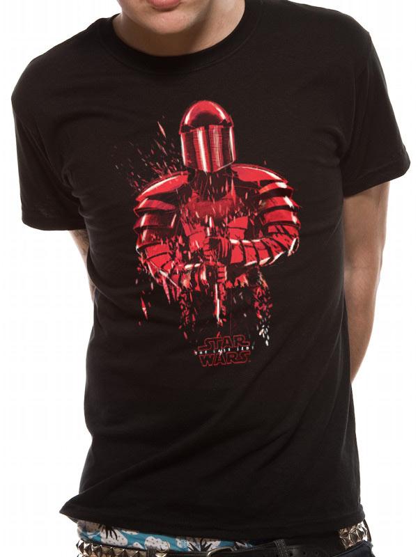 Star Wars Men/'s 8 The Last Jedi-praetorian Guard T-shirt Black Medium black