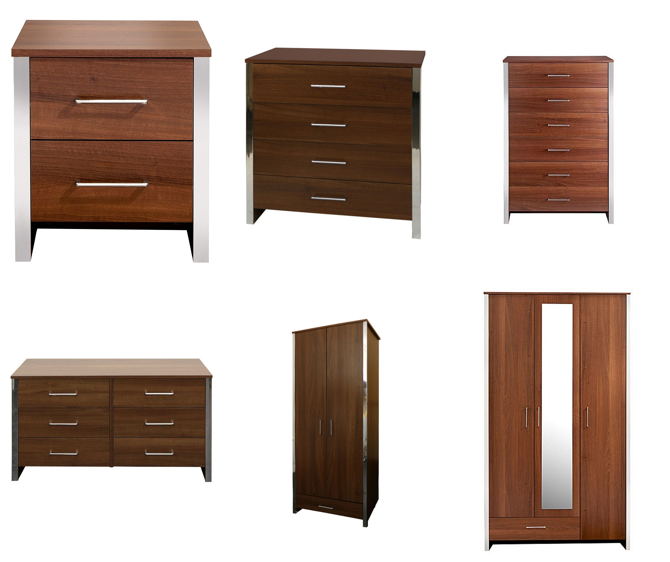 Gosport Walnut Bedroom Furniture Chests Of Drawers