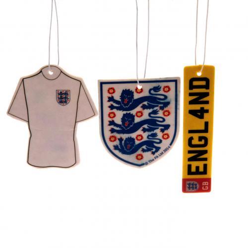 Confezione-da-3-Deodoranti-Football-Team-Club-Hanging-Crest-Car-Fan-ufficiale