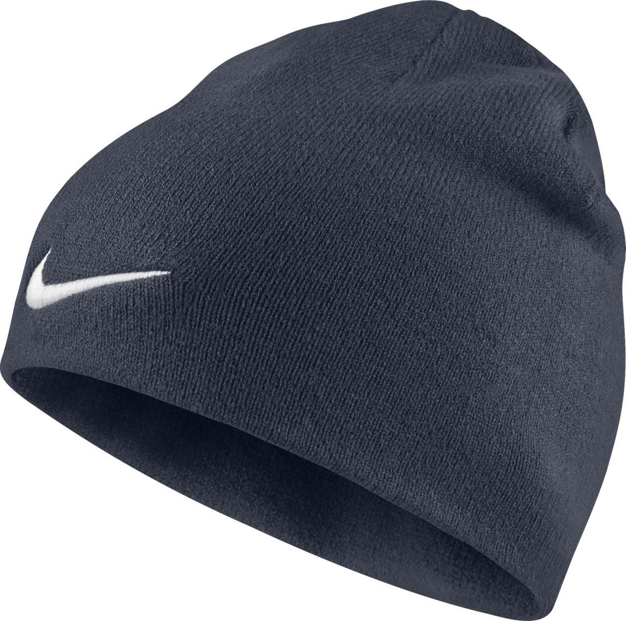 Details about Nike Team Performance Beanie Navy Blue Hat White Tick Swoosh  Adult Unisex Winter ed1037bb87e1