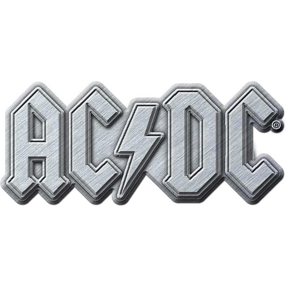 ACDC Rock Band Logo Metal Enamel BELT BUCKLE
