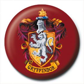 Harry Potter Bouton Badge Broche Ecusson Maison Gryffondor