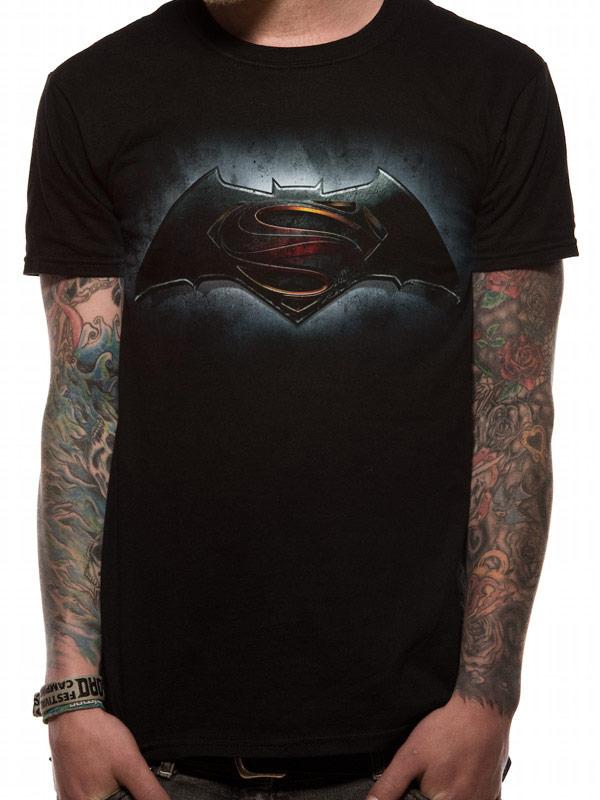 Batman V Superman Logo Official Black Unisex T-Shirt Mens Womens DC Comics  League 57cff9f2d4