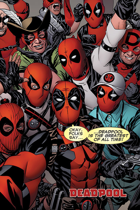 Poster Deadpool Selfie