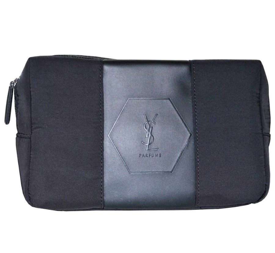 34881a51f7 YSL L'Homme Parfums Toiletry Bag is a wonderful travel essential to keep  all your bits and pieces in one place. Consists of one main compartment  with zip ...
