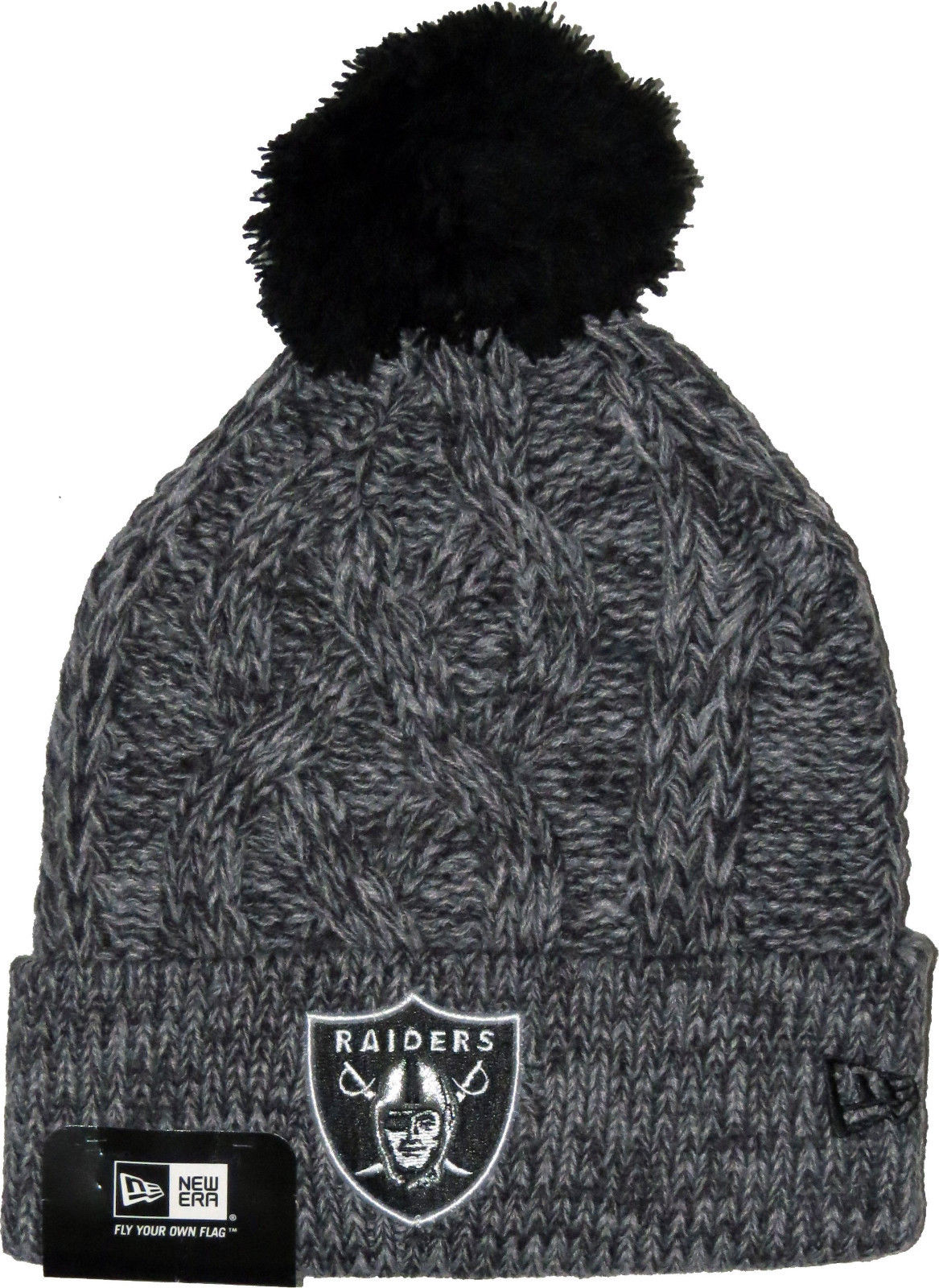 low priced 67508 560d8 A warm knitted bobble hat perfect for those cold days. Features embroidered  crest in club colours, this is a knitted design which would be a great hat  for ...