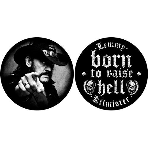 Motorhead Lemmy Born To Raise Hell Black Slipmats