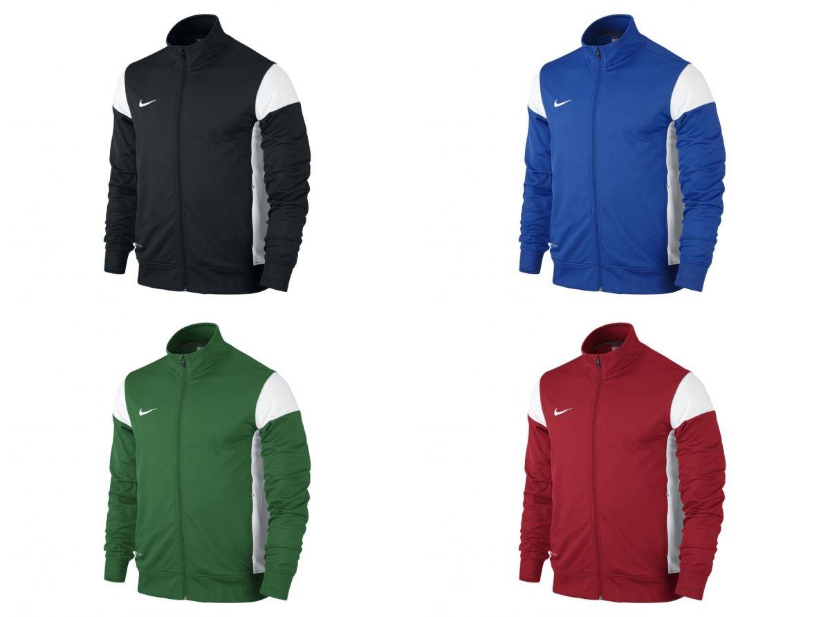 Detalles de varios colores nike chaqueta de la pista oficial zip up entrenamiento fútbol gim