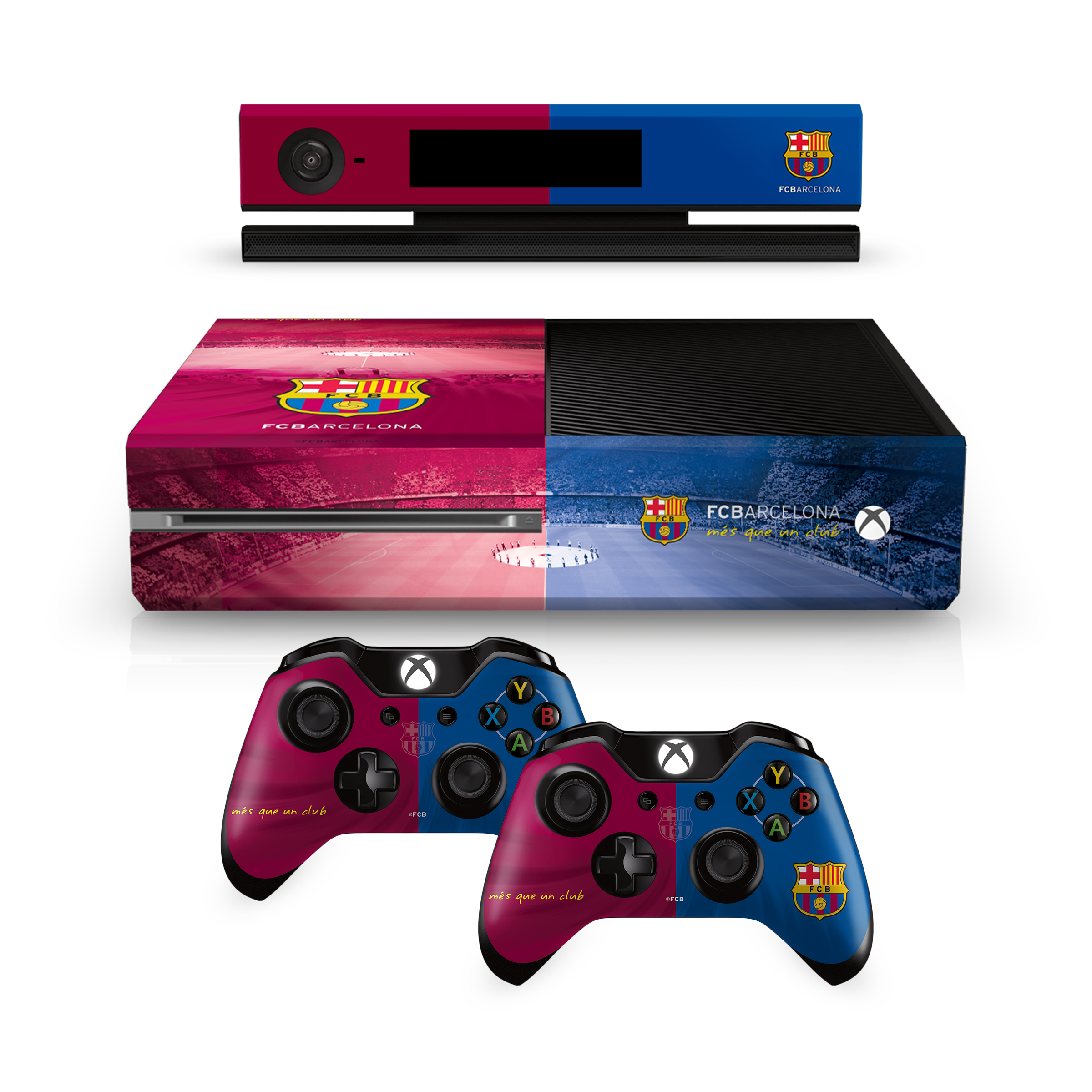 Microsoft-XBox-1-One-Console-Controllers-Vinyl-Stickers-