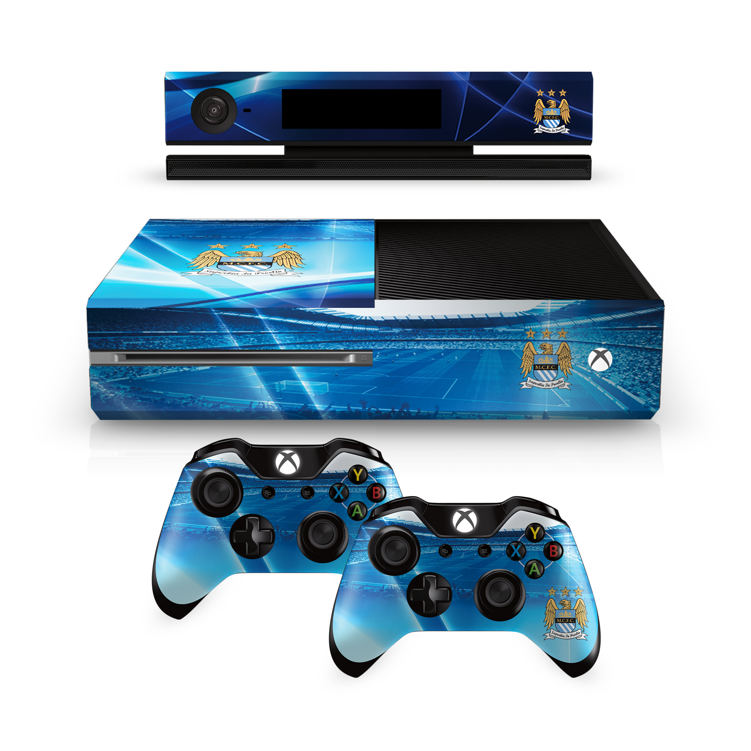 microsoft xbox 1 one console controllers vinyl stickers. Black Bedroom Furniture Sets. Home Design Ideas